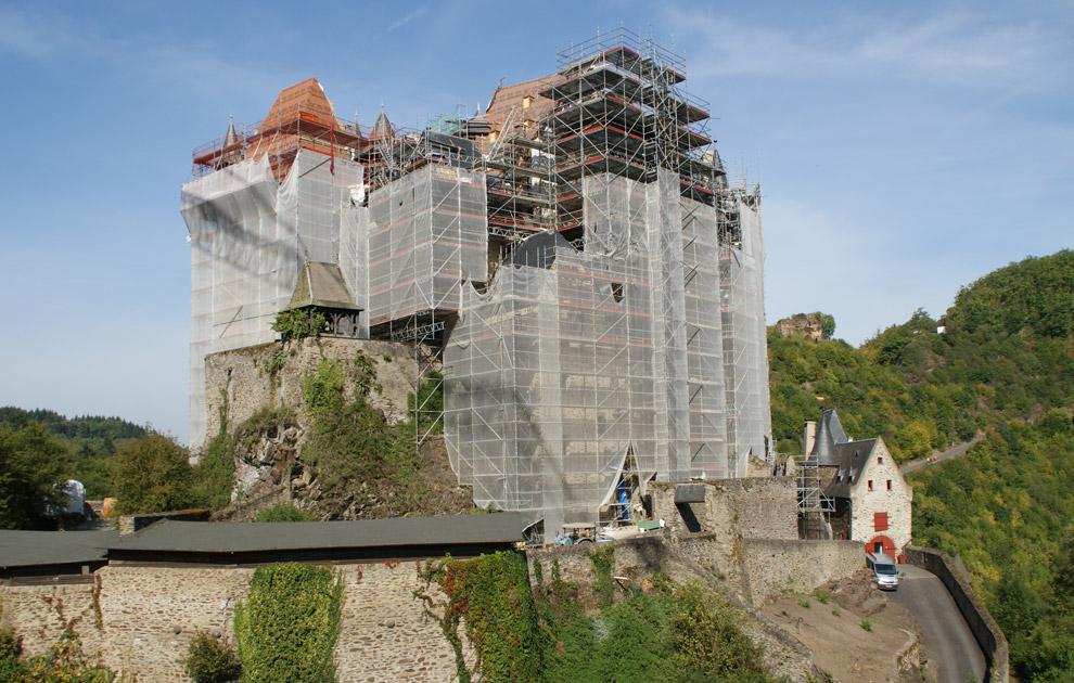 Burg Eltz in Münstermaifeld nähe Koblenz, Rheinland-Pfalz