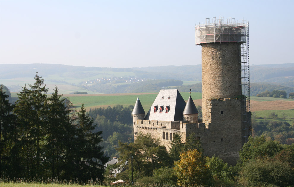 Sanierungsmaßnahmen Burg Schwalbach 2006