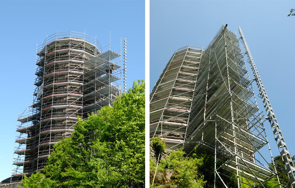 Sanierung Frauenburg in Frauenberg