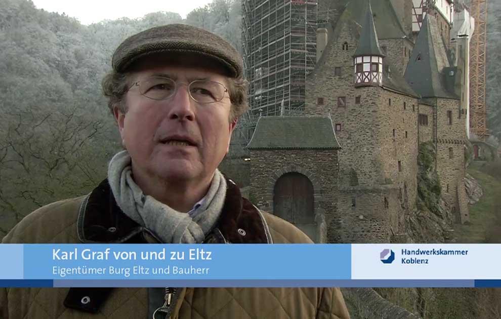 HwK-TV, 25.01.2012 - Historische Gemäuer und ihre Handwerker ...